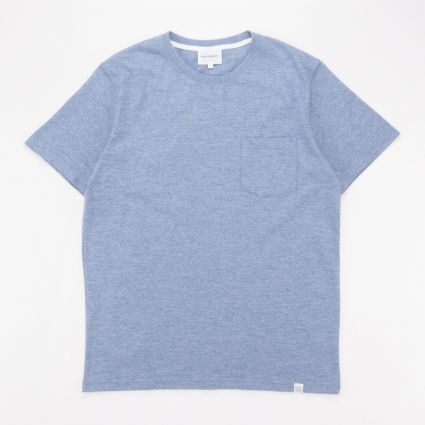 Norse Projects Niels Organic Mouline Stone Washed