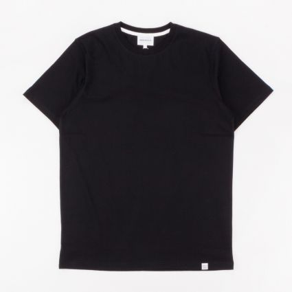 Norse Projects Niels Standard SS T-Shirt Black1