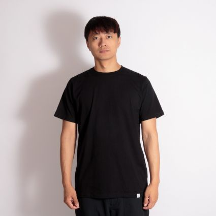 Norse Projects Niels Standard SS T-Shirt Black
