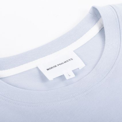Norse Projects Niels Standard SS T-Shirt Dust Blue