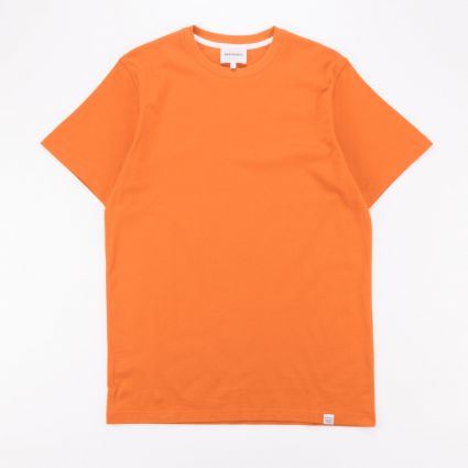 Norse Projects Niels Standard SS T-Shirt Golden Orange1