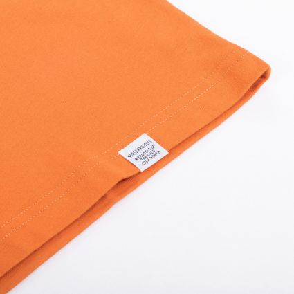 Norse Projects Niels Standard SS T-Shirt Golden Orange