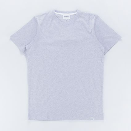 Norse Projects Niels Standard SS T-Shirt Light Grey Melange