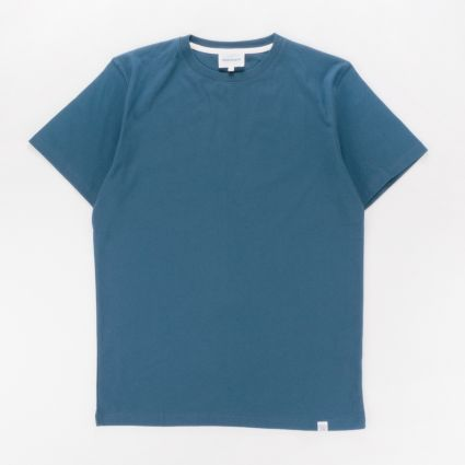 Norse Projects Niels Standard T-Shirt Deep Teal