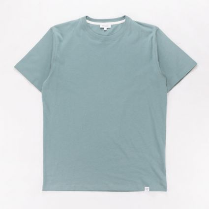 Norse Projects Niels Standard T-Shirt Mineral Blue1
