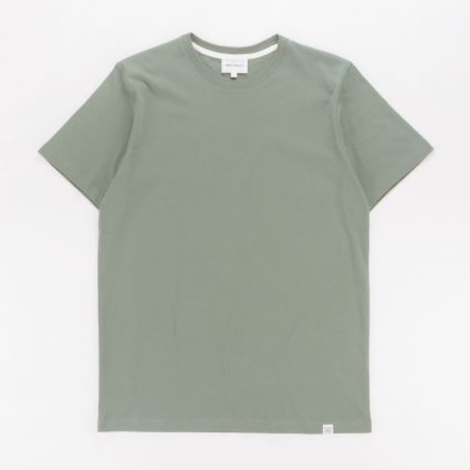 Norse Projects Niels Standard T-Shirt Moss Green1