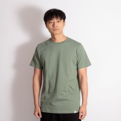Norse Projects Niels Standard T-Shirt Moss Green