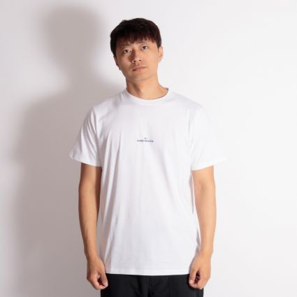 Norse Projects Niels Wave Logo T-Shirt White