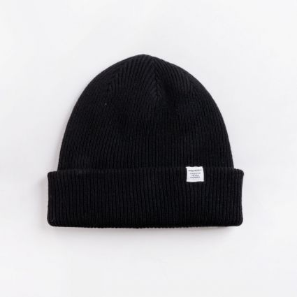 Norse Projects Norse Beanie Black1