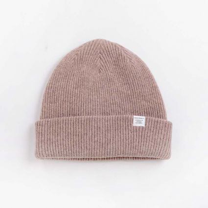 Norse Projects Norse Beanie Shale Stone1