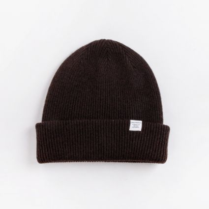 Norse Projects Norse Beanie Truffle