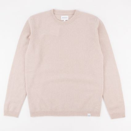 Norse Projects Sigfred Lambswool Knit Sweatshirt Utility Khaki1