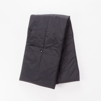 Norse Projects Snap Quilt Scarf Black1