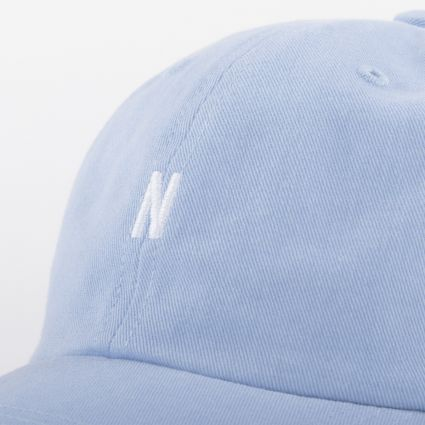 Norse Projects Twill Sports Cap Clouded Blue