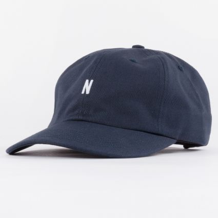 Norse Projects Twill Sports Cap Dark Navy