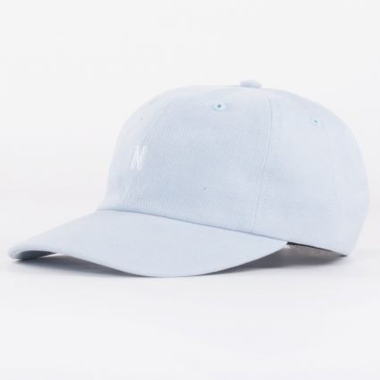 Norse Projects Twill Sports Cap Dust Blue1