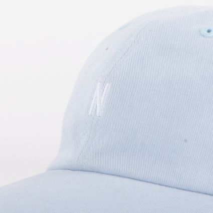 Norse Projects Twill Sports Cap Dust Blue