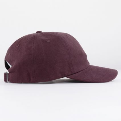 Norse Projects Twill Sports Cap Eggplant Brown