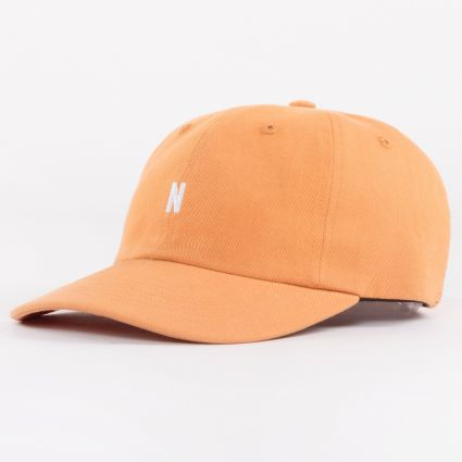 Norse Projects Twill Sports Cap Golden Orange1