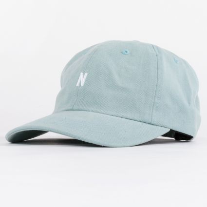 Norse Projects Twill Sports Cap Mineral Blue1