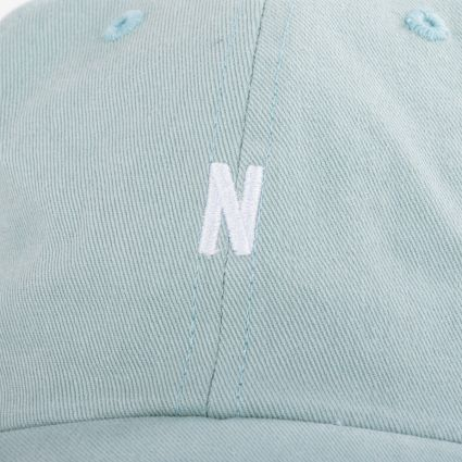 Norse Projects Twill Sports Cap Mineral Blue