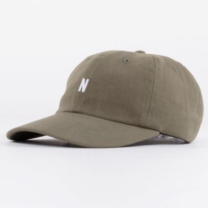 Norse Projects Twill Sports Washed Kelp1