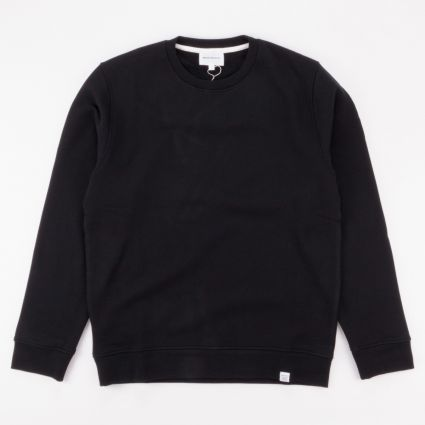 Norse Projects Vagn Classic Crew Sweatshirt Black1