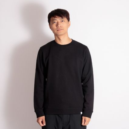 Norse Projects Vagn Classic Crew Sweatshirt Black