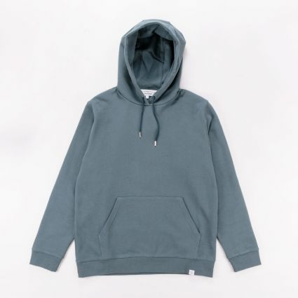 Norse Projects Vagn Classic Hoodie Mineral Blue1