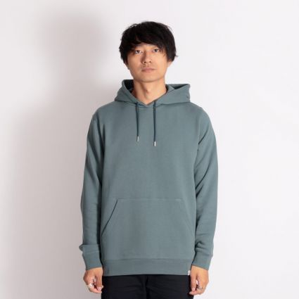 Norse Projects Vagn Classic Hoodie Mineral Blue
