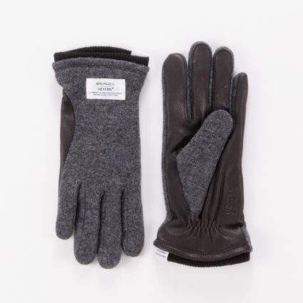 Norse Projects x Hestra Svante Gloves Charcoal1