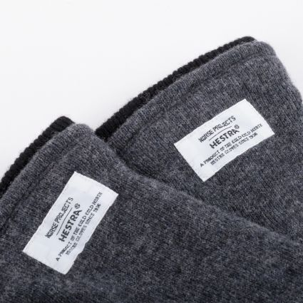 Norse Projects x Hestra Svante Gloves Charcoal