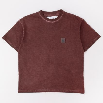 Oakley By Samuel Ross Patch SS Tee Dark Wine