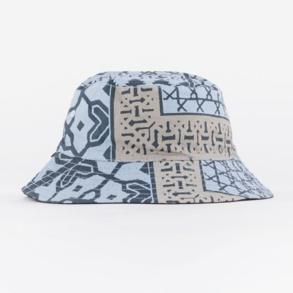 Obey Bandana Bucket Hat Navy Bandana/Black1