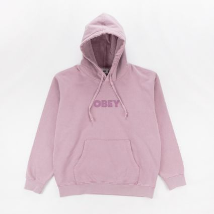 Obey Bold Ideals Sustainable Hoodie Gallnut