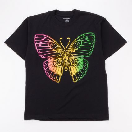 Obey Butterfly Sustainable T-Shirt Black1