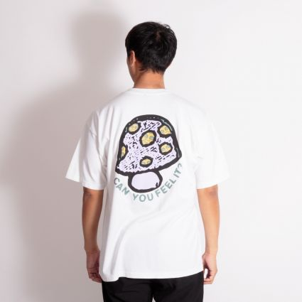 Obey Can You Feel It? Heavyweight T-Shirt White