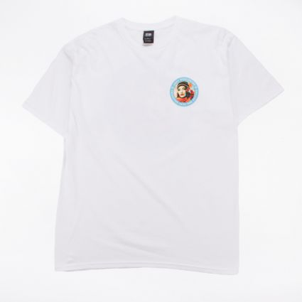 Obey Charging Into The Future Basic T-Shirt White1