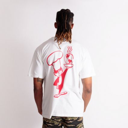 Obey Chef T-Shirt White