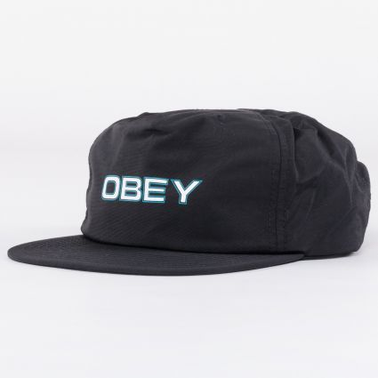 Obey Copper Strapback Cap Black1