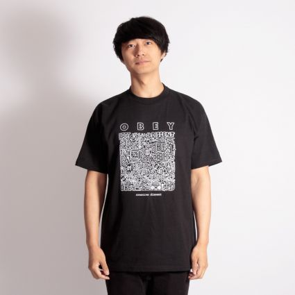 Obey Creative Dissent T-Shirt Black