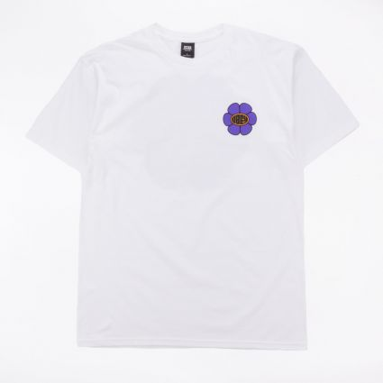 Obey Daisy Ave. Basic T-Shirt White1