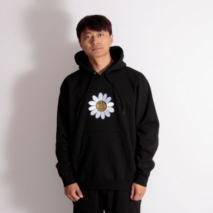 Obey Daisy Hoodie Black