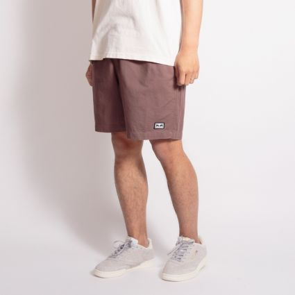 Obey Easy Relaxed Twill Short Grey Grape