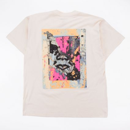 Obey Enhanced Disintegration Sustainable T-Shirt Cream