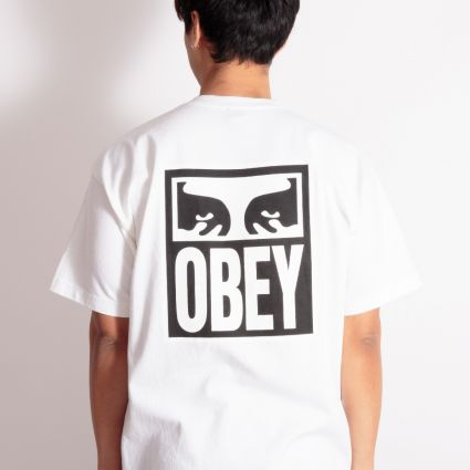 Obey Eyes Icon 2 Heavyweight T-Shirt White