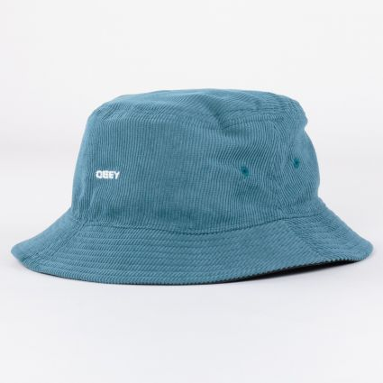 Obey Icon Reversible Bucket Hat Black Multi
