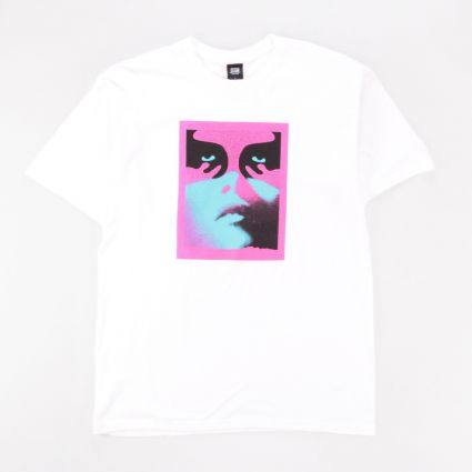 Obey Noir Women Icon T-Shirt White