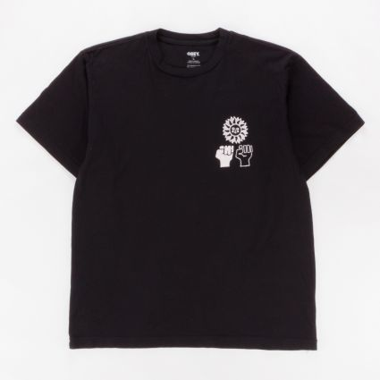 Obey Peace Justice Equality T-Shirt Black1