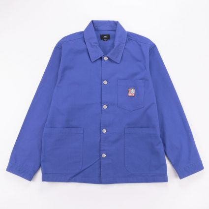 Obey Pebble Chore Jacket Ultramarine1